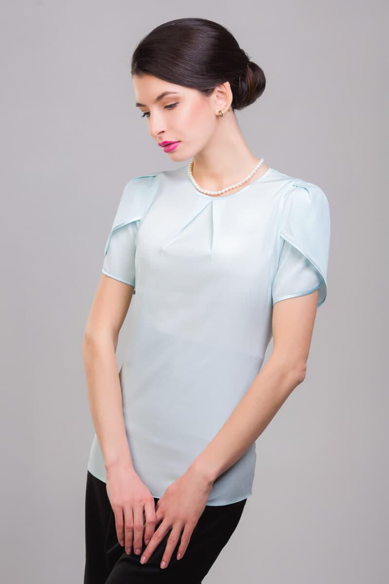 Шелковые блузки из натурального шелка